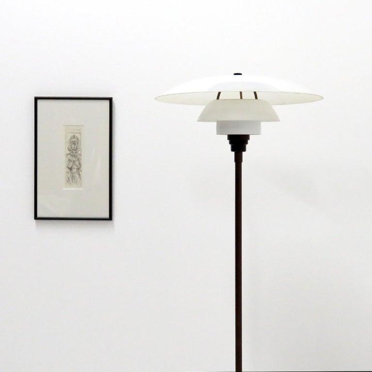 Danish Poul Henningsen PH 4/3 Floor Lamp, 1930 For Sale