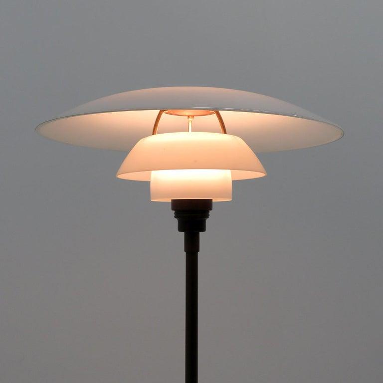 Metal Poul Henningsen PH 4/3 Floor Lamp, 1930 For Sale