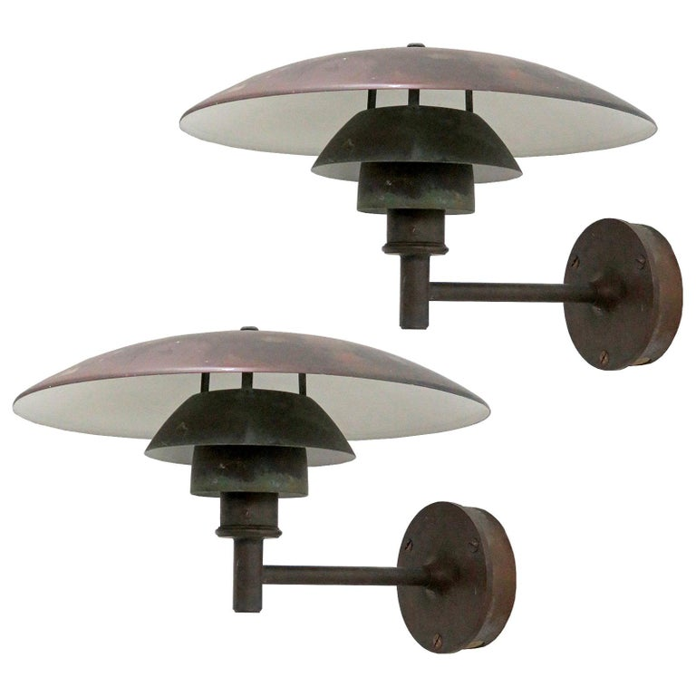 Poul Henningsen PH 4½/3 Wall Lights For Sale