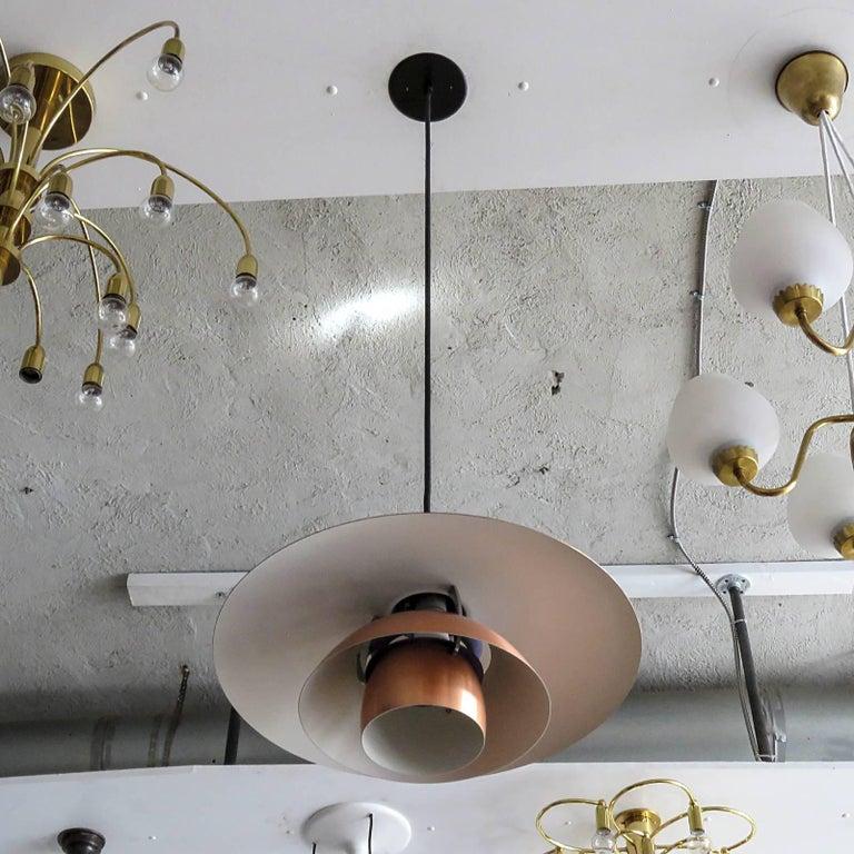 Brushed Poul Henningsen PH 4½/4 Copper Pendant
