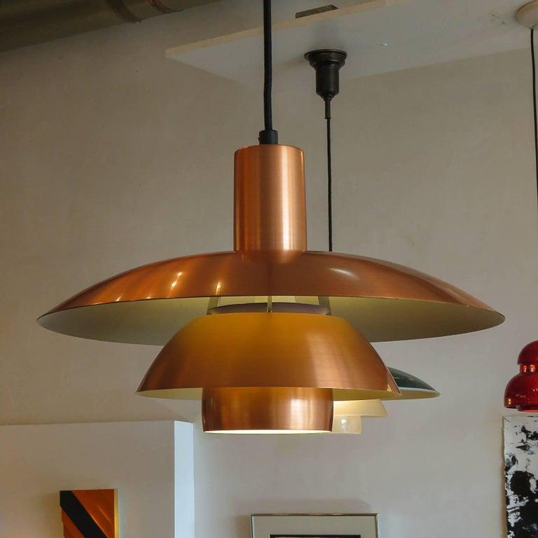 Poul Henningsen PH 4½/4 Copper Pendant 1