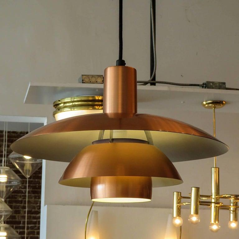 Poul Henningsen PH 4½/4 Copper Pendant 2