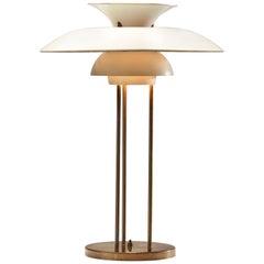 """Poul Henningsen """"PH-5"""" Table Lamp for Louis Poulsen, Denmark, 1958"""