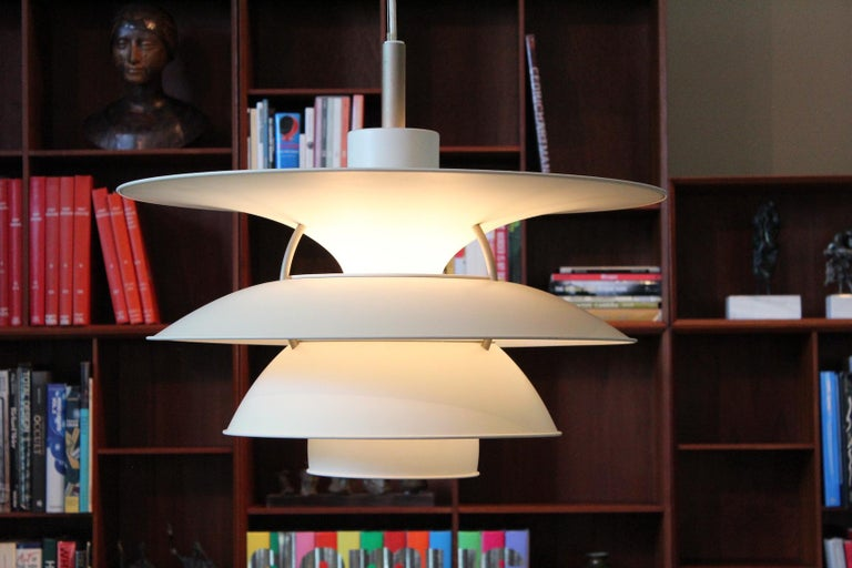 A large PH 6 1/2 - 6 pendant by Poul Henningsen for Louis Poulsen. Several available.