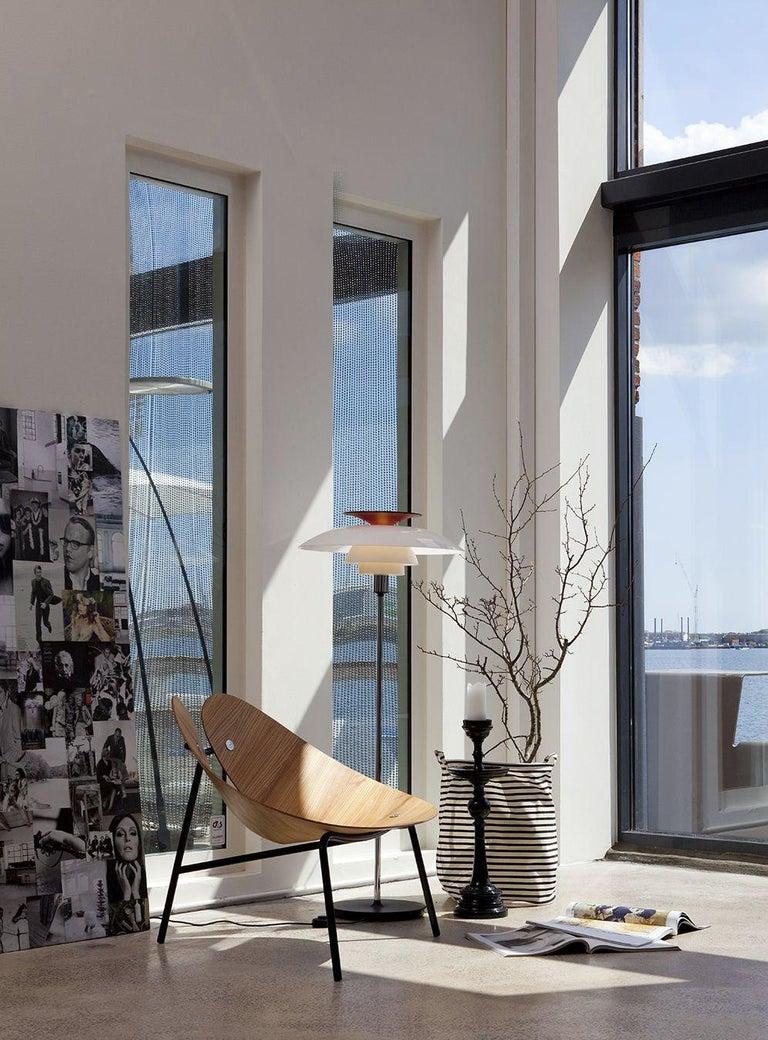 Scandinavian Modern Poul Henningsen PH 80 Floor Lamp for Louis Poulsen For Sale
