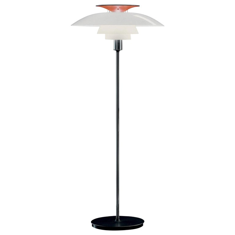 Poul Henningsen PH 80 Floor Lamp for Louis Poulsen For Sale
