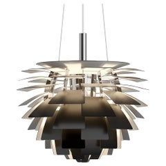 Poul Henningsen PH Artichoke Chandelier in Black for Louis Poulsen