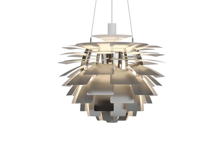 Mid-Century Modern Poul Henningsen Ph Artichoke Pendant, X-Large For Sale