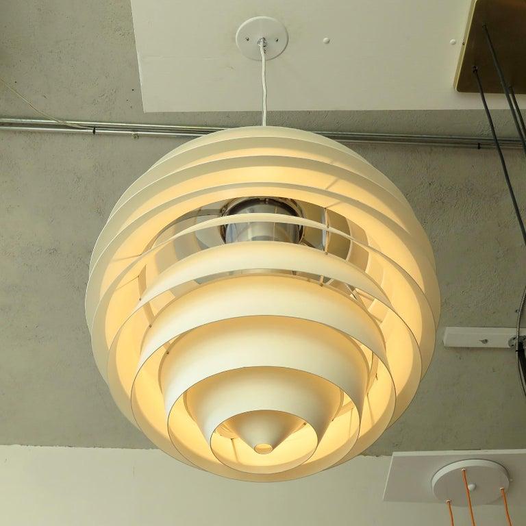 Aluminum Poul Henningsen Ph Louvre Pendant Light For Sale