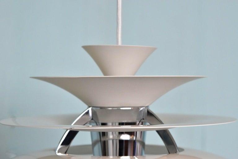 Scandinavian Modern Poul Henningsen PH Snowball Pendant Lamp by Louis Poulsen, Denmark For Sale