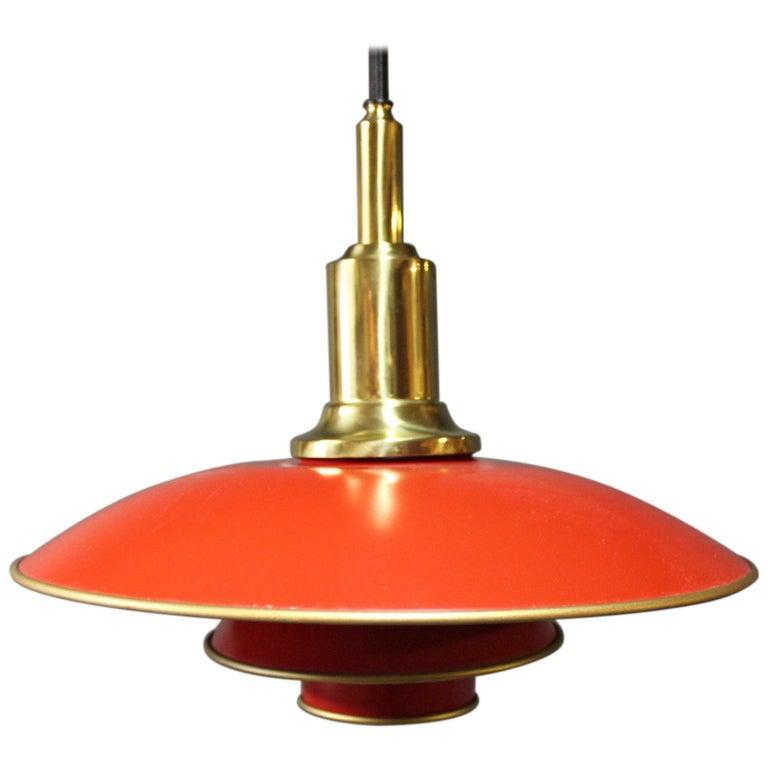 """Poul Henningsen PH3/2 Pendant, """"The Anniversary Model"""" For Sale"""