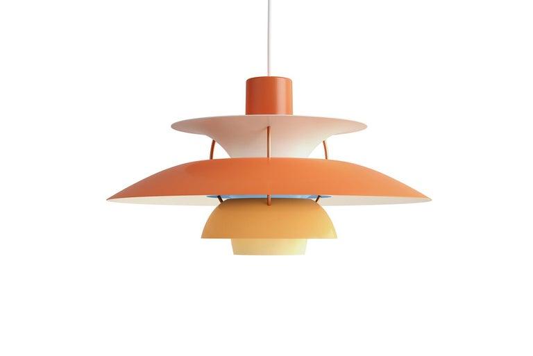 Mid-Century Modern Poul Henningsen Ph5 Pendant For Sale