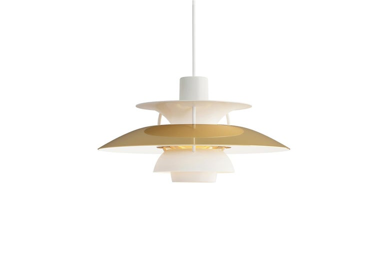 Poul Henningsen Ph5 Pendant In New Condition For Sale In Berkeley, CA