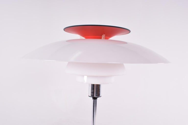 Late 20th Century Poul Henningsen PH80 Table Lamp for Louis Poulsen, 1970 For Sale