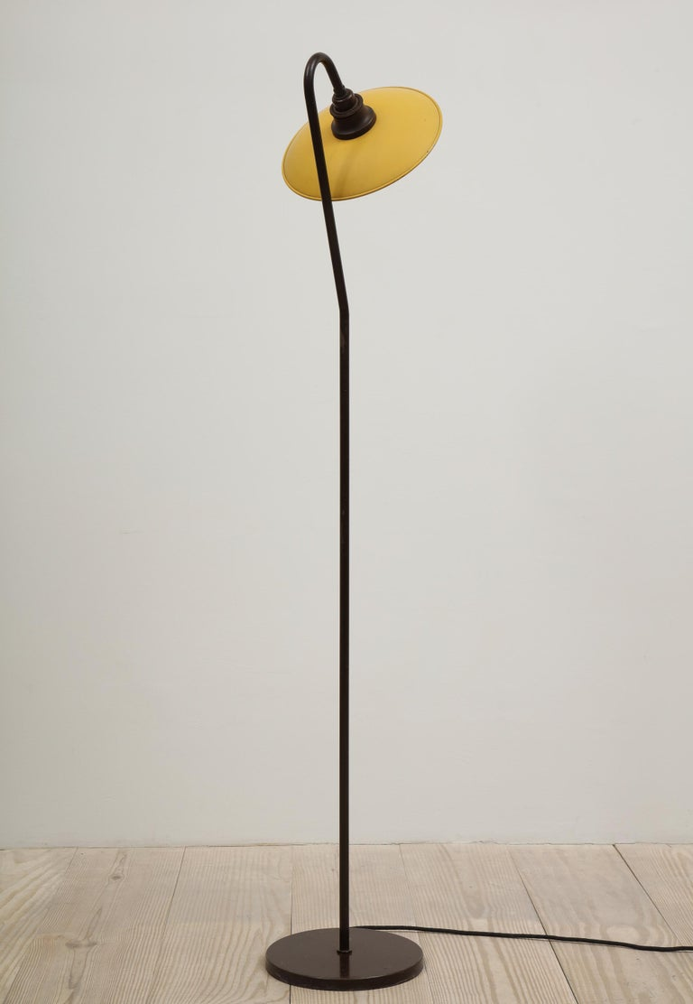 Poul Henningsen, Seven Standing Light, Stamped: PH-2 / Patented, circa 1933 In Excellent Condition For Sale In New York, NY
