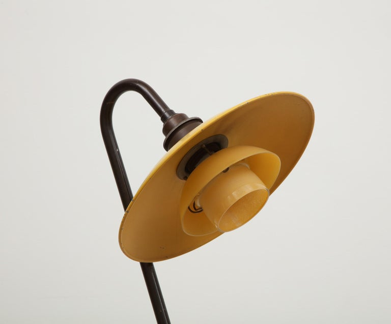 Poul Henningsen, Seven Standing Light, Stamped: PH-2 / Patented, circa 1933 1