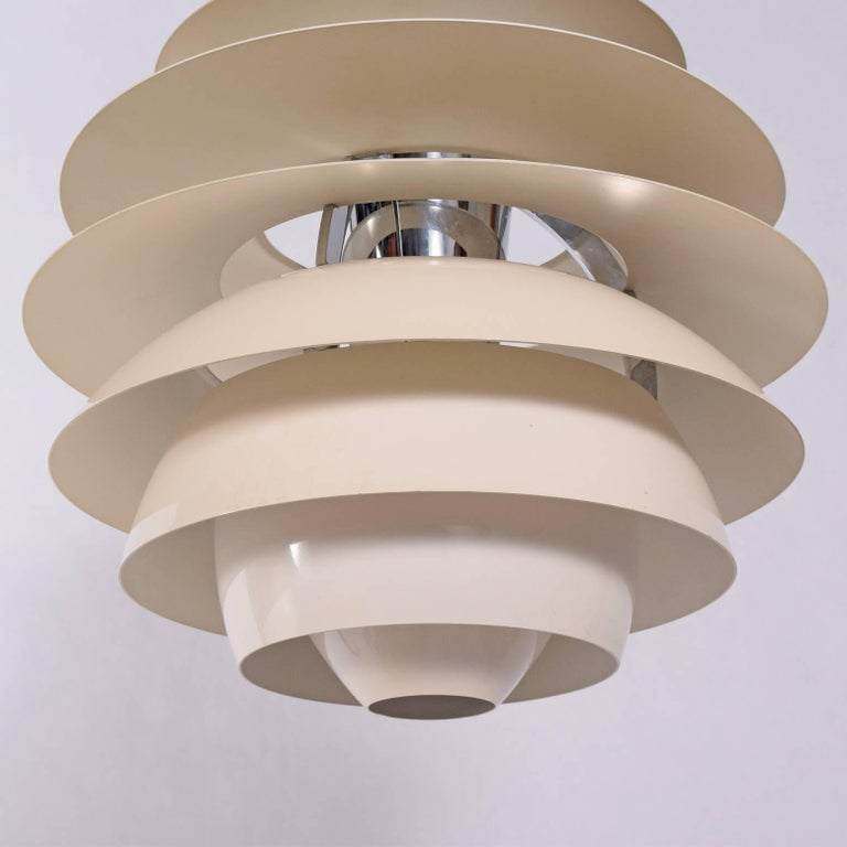 Scandinavian Modern Poul Henningsen Snowball Pendant Lamp for Louis Poulsen For Sale