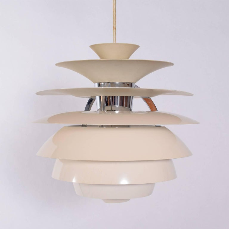 Danish Poul Henningsen Snowball Pendant Lamp for Louis Poulsen For Sale
