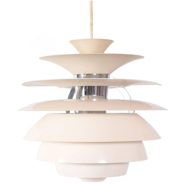 Poul Henningsen Snowball Pendant Lamp for Louis Poulsen For Sale