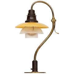 Poul Henningsen Table Lamp Model PH-2/2 Produced by Louis Poulsen in Denmark