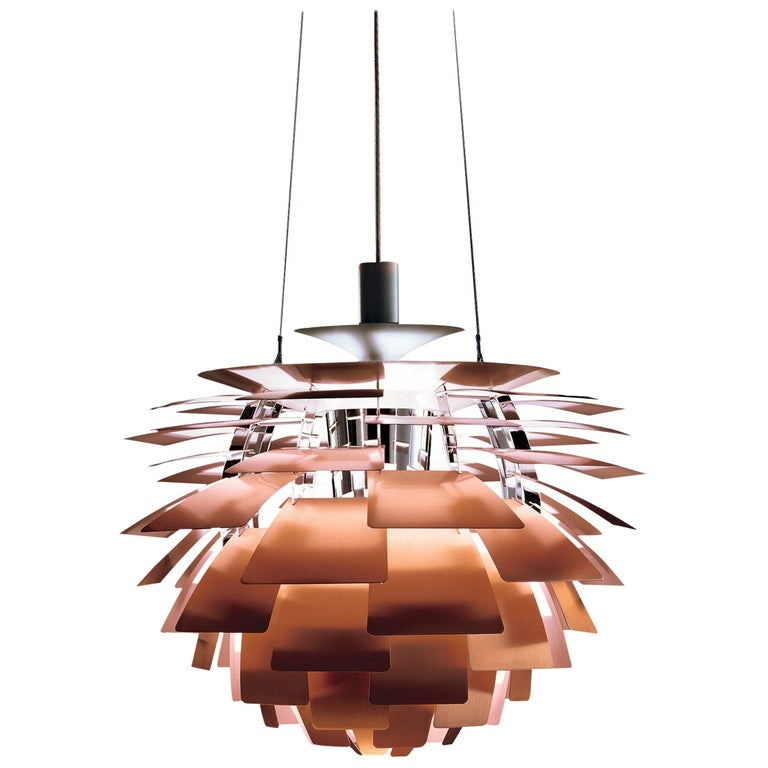 Poul Henningsen White PH Artichoke Chandelier for Louis Poulsen For Sale 10