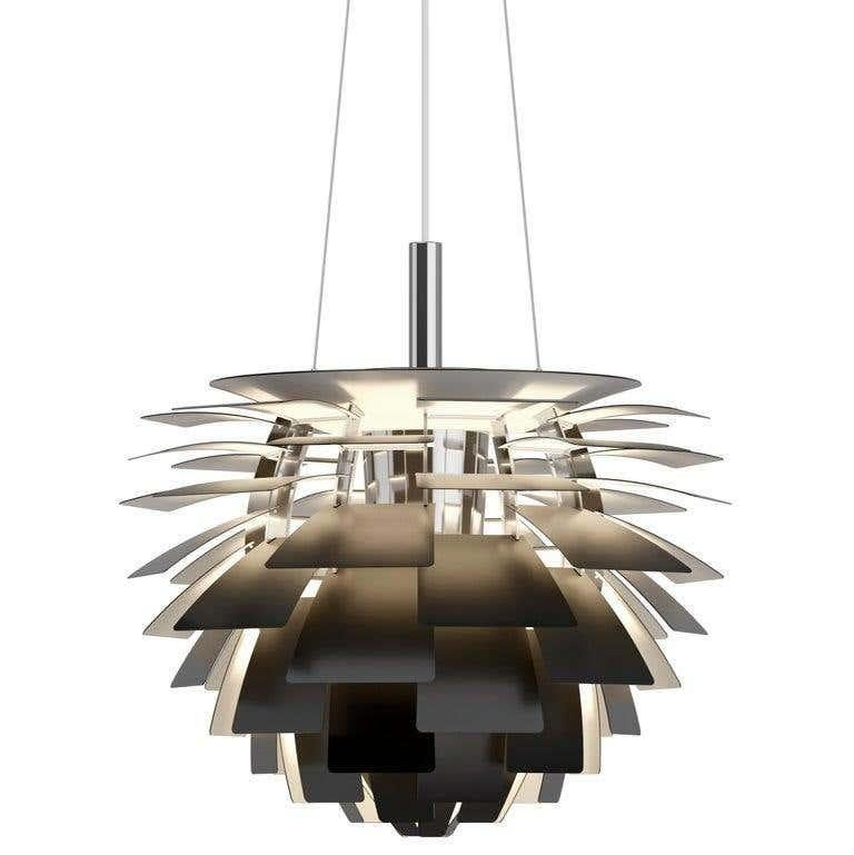 Poul Henningsen White PH Artichoke Chandelier for Louis Poulsen For Sale 11