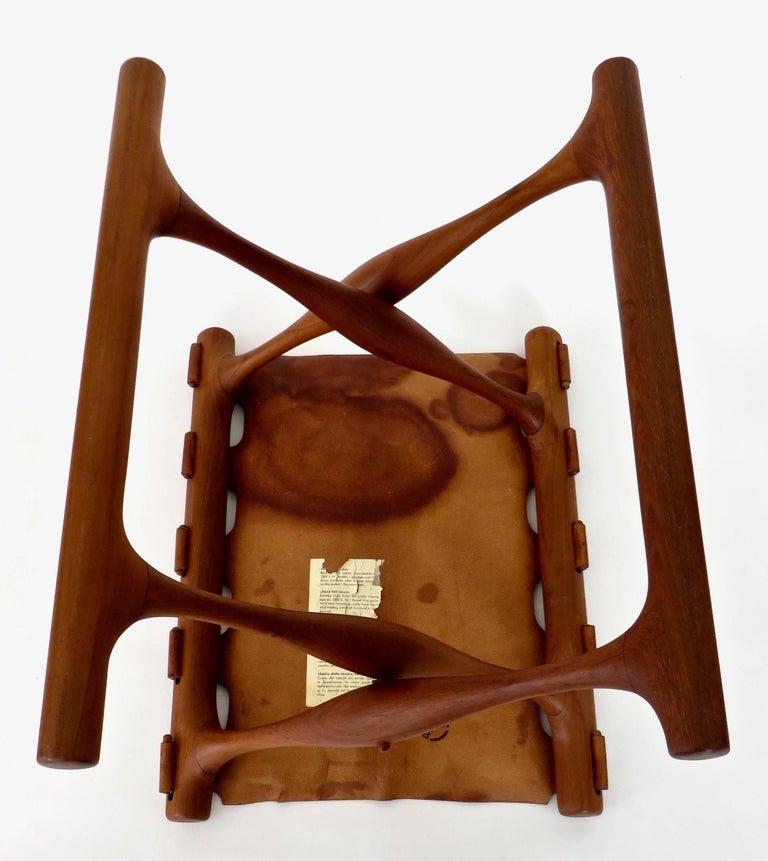 Poul Hundevad Danish Folding Stool PH 43 For Sale 13