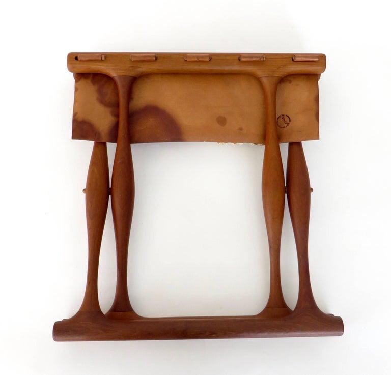 Poul Hundevad Danish Folding Stool PH 43 For Sale 14