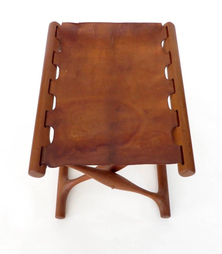 Poul Hundevad Danish Folding Stool PH 43 For Sale 3