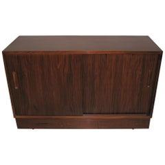 Poul Hundevad Danish Modern Cabinet Dresser Slider