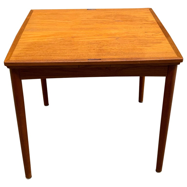 Poul Hundevad Danish Teak Extension Table For Sale