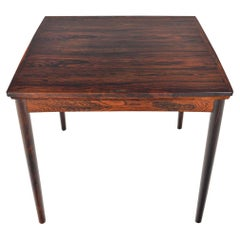 Poul Hundevad Flip Top Game/ Dining Table in Rosewood