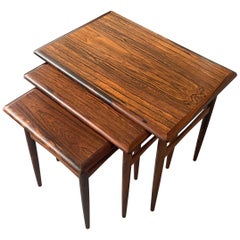 Poul Hundevad Rosewood Nesting Tables