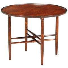 Poul Hundevad Rosewood Side Table for Vamdrup Stolefabrik