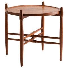 Poul Hundevad Teak Tray Table, Denmark, 1960s