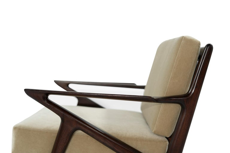 Poul Jensen for Selig 'Z' Lounge Chairs, Denmark, circa 1950s For Sale 1