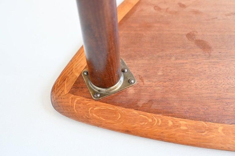 Poul Jensen Style Nesting Tables Teak Wood Denmark 1960 For Sale 9