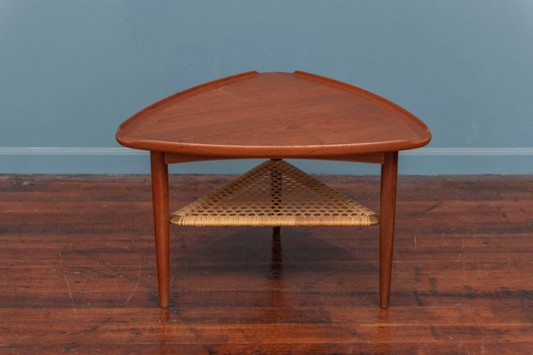 Poul Jensen Triangle Form Table for Selig In Good Condition In San Francisco, CA