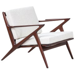 "Poul Jensen ""Z"" Lounge Chair for Selig"