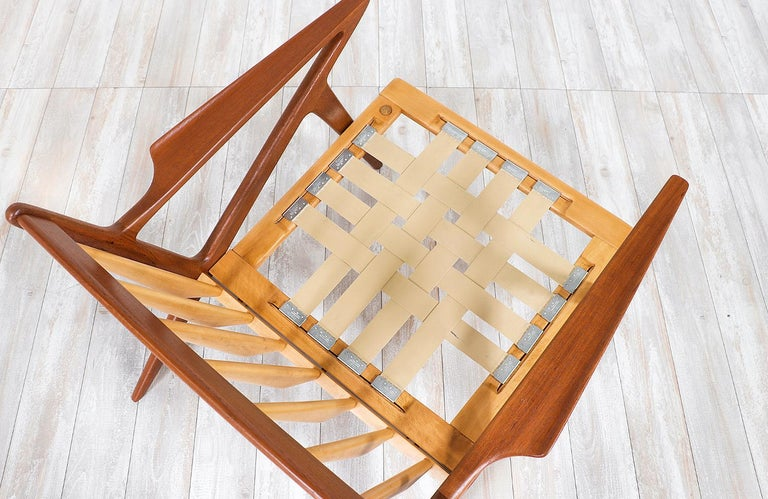 Poul Jensen Z Teak Lounge Chairs for Selig For Sale 3