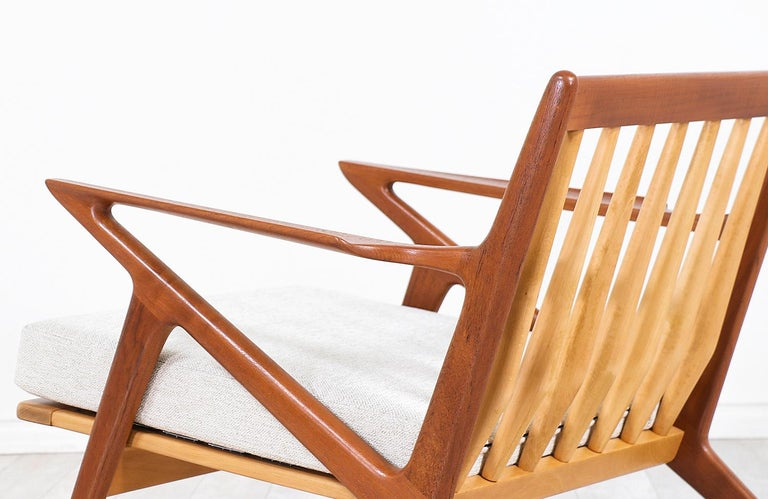 Poul Jensen Z Teak Lounge Chairs for Selig For Sale 6