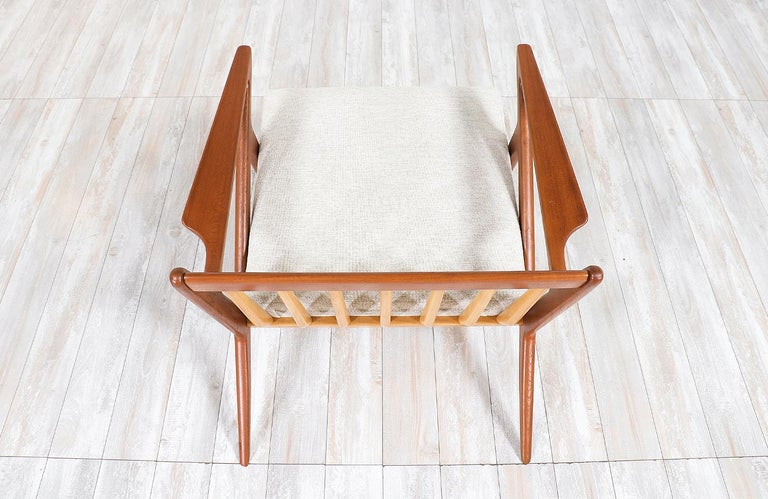 Poul Jensen Z Teak Lounge Chairs for Selig For Sale 1
