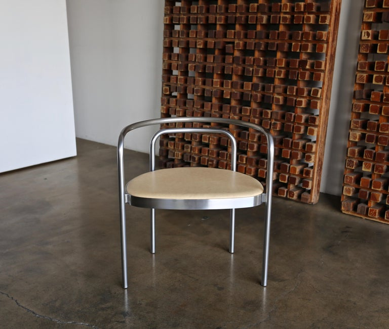 Poul Kjaerholm armchair model no. PK12 for E. Hold Christensen, circa 1964. (four armchairs available).