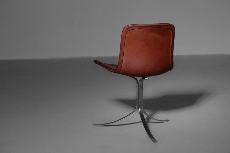 Poul Kjaerholm Chair, Model PK9 for Kold Christensen For Sale 4