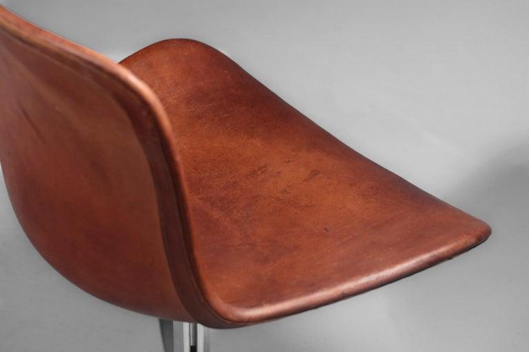 Danish Poul Kjaerholm Chair, Model PK9 for Kold Christensen For Sale