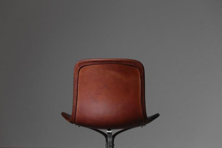 Poul Kjaerholm Chair, Model PK9 for Kold Christensen In Good Condition For Sale In Lyon, FR