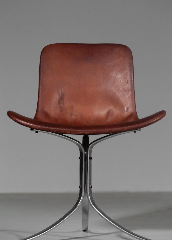 Poul Kjaerholm Chair, Model PK9 for Kold Christensen For Sale 1