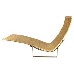 Poul Kjaerholm, Chaise Longue, Model PK 24 Hammock chair, Denmark, circa 1967