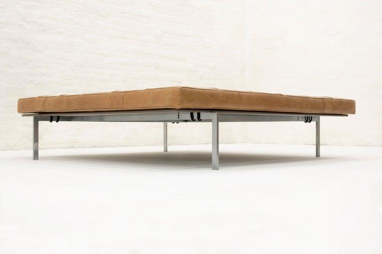 Scandinavian Modern Poul Kjaerholm daybed model PK80A, Kold Christensen Edition, 1959 For Sale