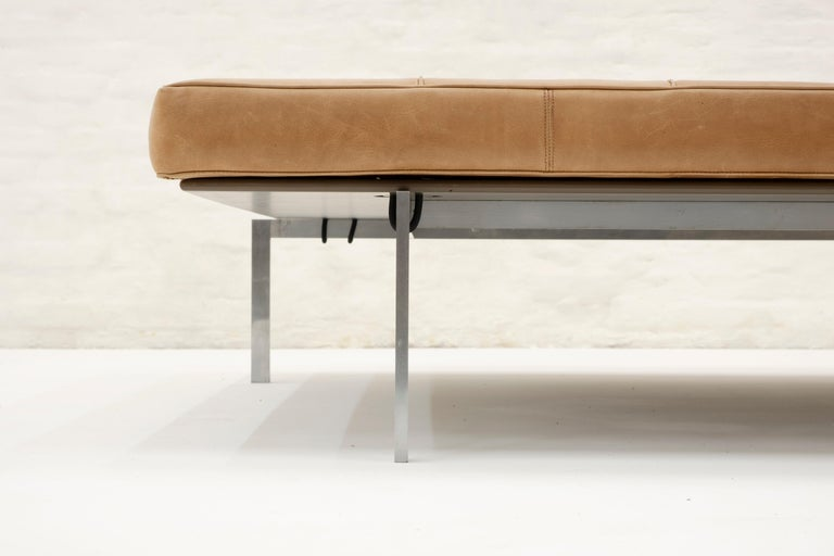 Poul Kjaerholm daybed model PK80A, Kold Christensen Edition, 1959 In Good Condition For Sale In Antwerp, BE